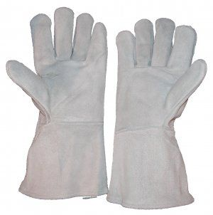 Leather Safety Shrinkwrap Gloves