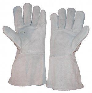 Leather Safety Shrinkwrap Gloves