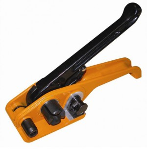 Strap Tensioning Tool for Woven Cord Strapping